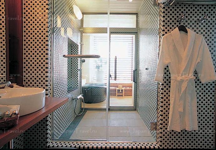 отель Suginoi Hotel ванная