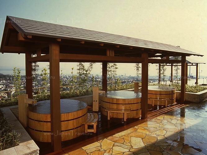 отель Suginoi Hotel ванны1