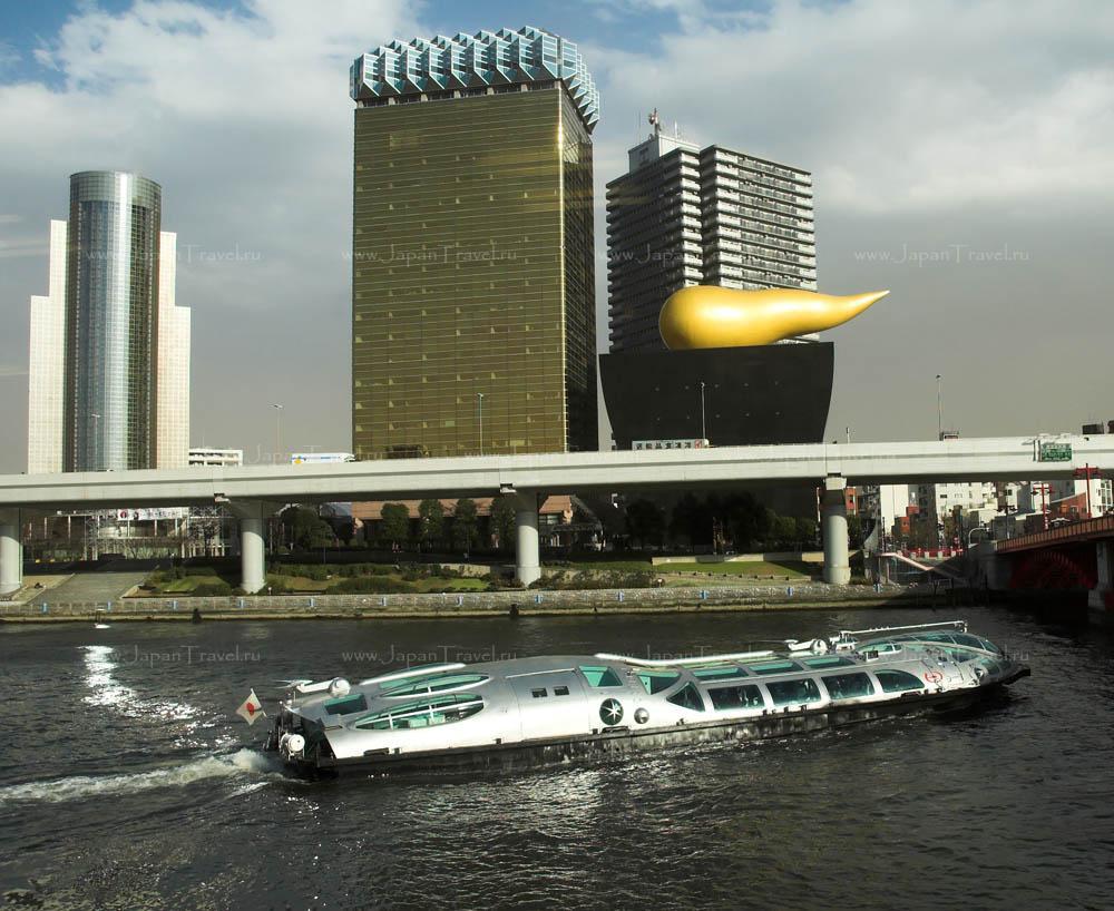 Речной трамвай в Токио